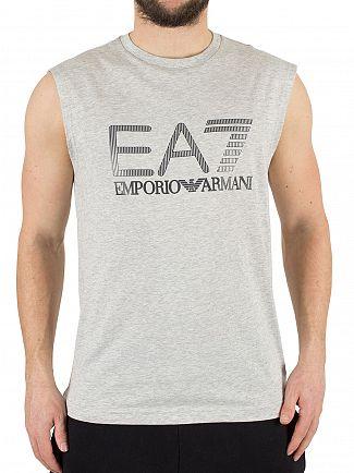 Emporio Armani Grey Light Mel EA7 Graphic Vest