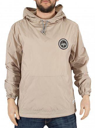 Hype Sand Kagoule Crest Logo Jacket