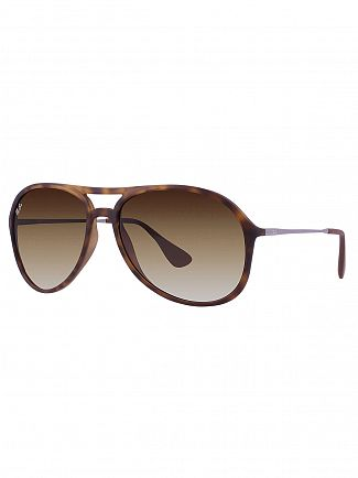 Ray-Ban Brown Alex Sunglasses