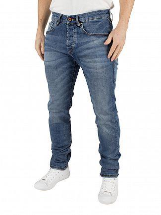 Scotch & Soda Roaming Blue Ralston Regular Slim Fit Jeans