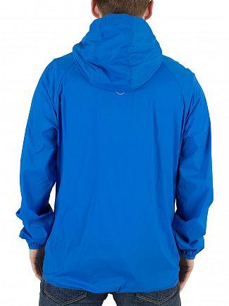 Converse Soar Blue Blur Nylon Logo Jacket