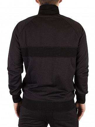 Converse Black Microdot Logo Track Top Jacket