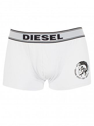 Diesel Black/White/Navy Shawn Three Pack Logo Trunks