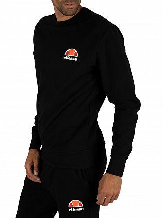 Ellesse Anthracite Diveria Left Chest Logo Sweatshirt