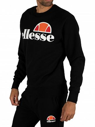 Ellesse Anthracite Succiso Graphic Sweatshirt
