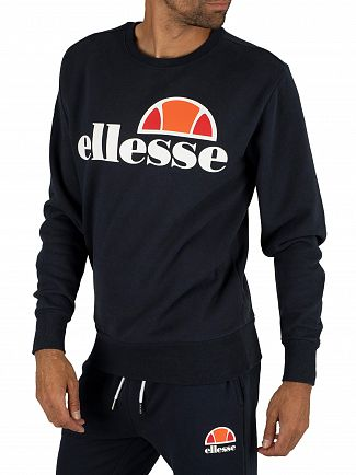 Ellesse Dress Blues Succiso Graphic Sweatshirt