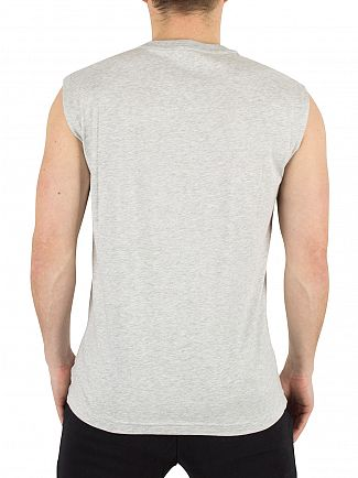 Emporio Armani Grey Light Mel EA7 Graphic Vest