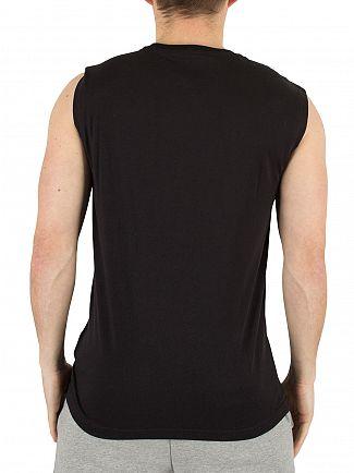 Emporio Armani Black EA7 Graphic Vest