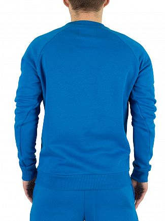 Fila Vintage Imperial Blue Gavi Logo Sweatshirt
