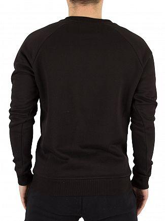 Fila Vintage Black Gavi Logo Sweatshirt