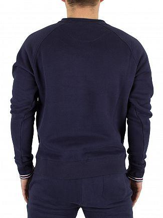 Fila Vintage Peacoat Pozzi Logo Sweatshirt
