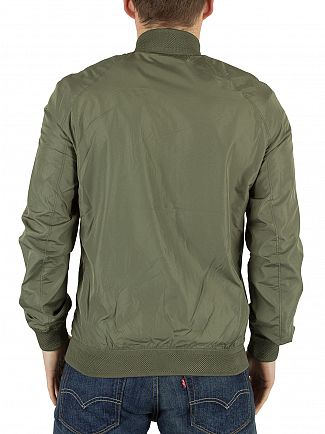 J Lindeberg Military Green Thom 72 Gravity Bomber Jacket