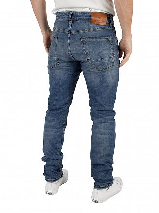 Scotch & Soda Roaming Blue Ralston Regular Slim Fit Jeans