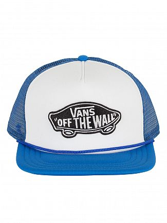 Vans White/Imperial Classic Patch Mesh Logo Snapback