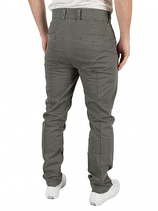 Vivienne Westwood Charcoal Classic Logo Chinos