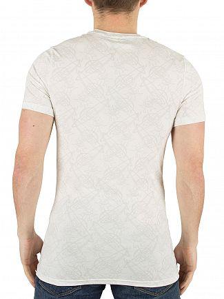 Vivienne Westwood White Faint All Over Logo Pattern T-Shirt