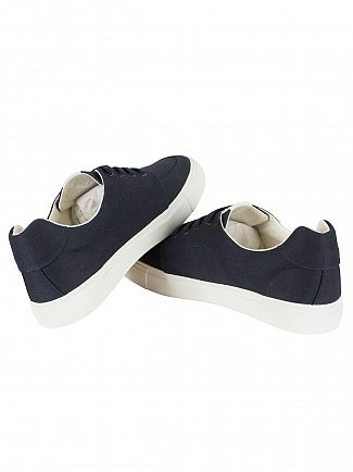 Lyle & Scott New Navy Calder Canvas Trainers