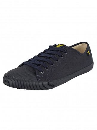 Lyle & Scott New Navy Tima Canvas Trainers