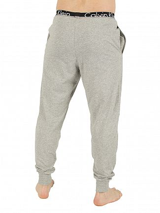 Calvin Klein Grey Heather Marled Logo Pyjama Bottoms