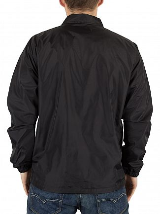 Carhartt WIP Black/White Strike Coach Logo Button Jacket