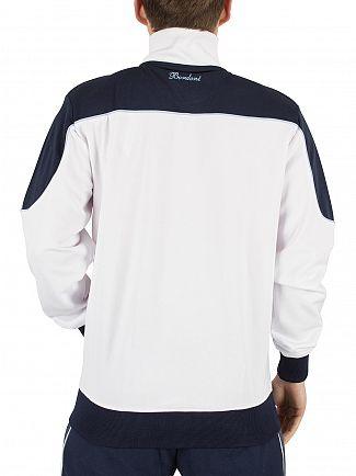 Ellesse Optic White Bordoni Panelled Logo Tracktop Jacket