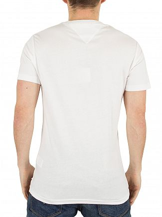 Hilfiger Denim Classic White Basic THD Graphic T-Shirt