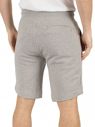 Hilfiger Denim Light Grey Heather Logo Sweat Shorts