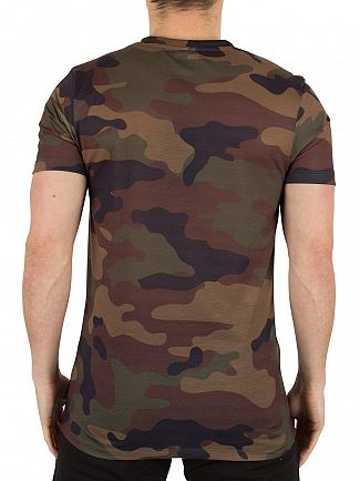 Hype Multi Camo Logo T-Shirt