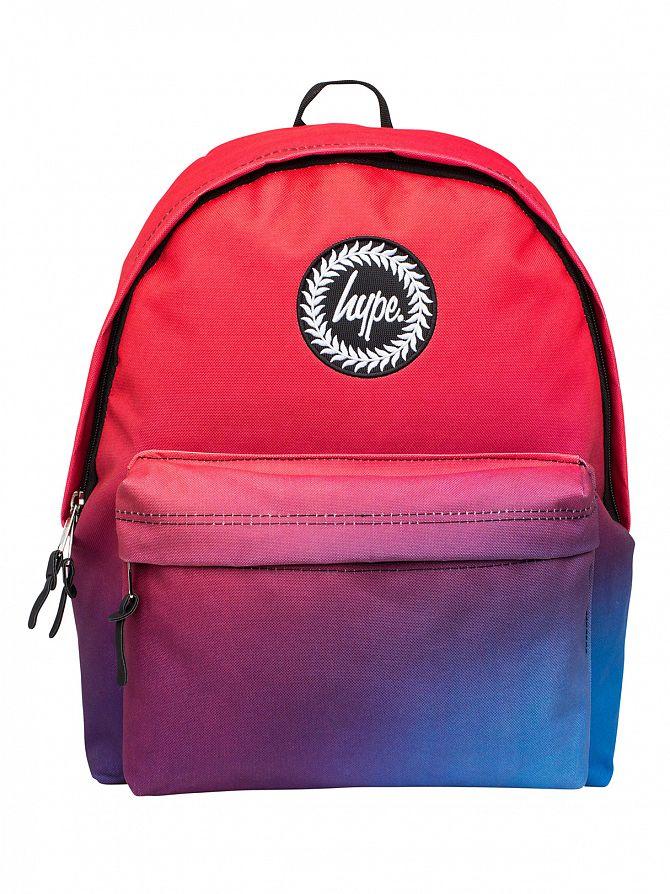 Hype Dusk Fade Logo Backpack
