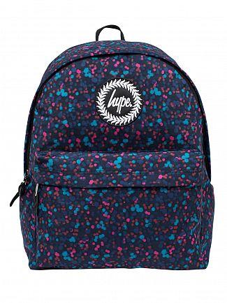 Hype Blue Firefly Logo Backpack