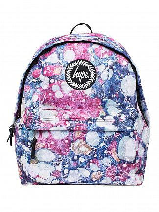 Hype Multi Marble Rush Logo Backpack