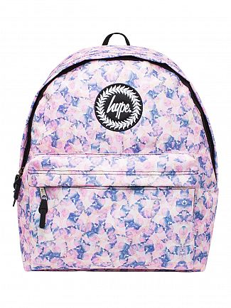 Hype Multi Pastel Paint Logo Backpack