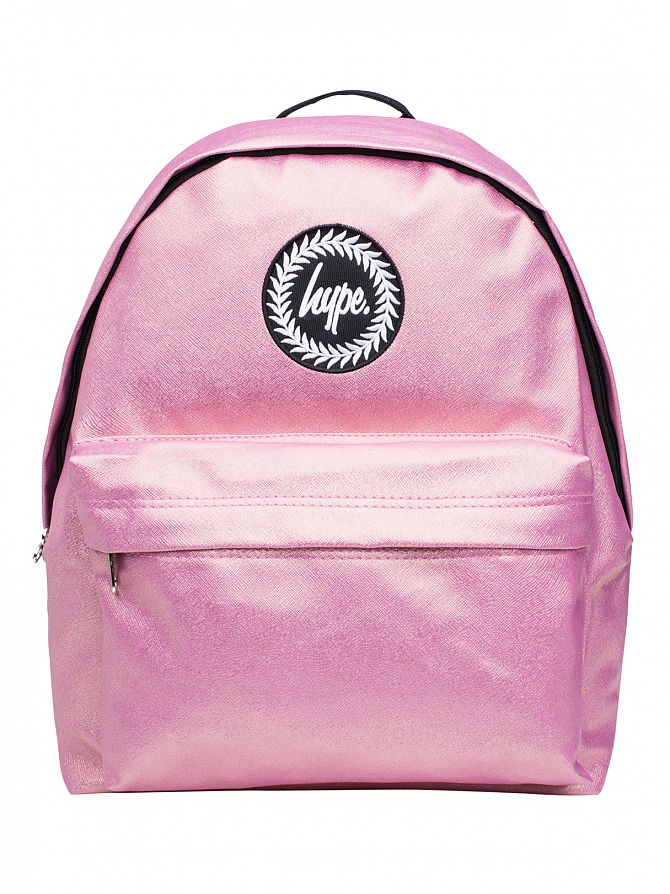 Hype Pink Peached Logo Backpack