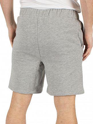 Hype Grey/White Script Logo Shorts