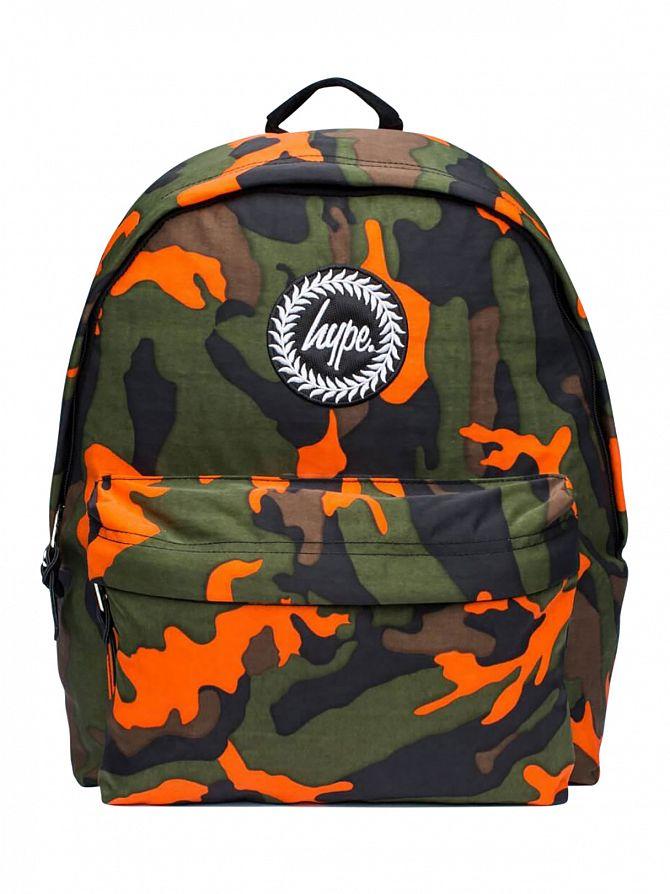 Hype Camo Zest Logo Backpack