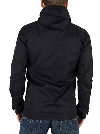 Minimum Dark Navy Trino Hooded Jacket