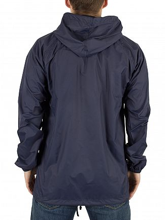 Nicce London Navy Chester Logo Jacket