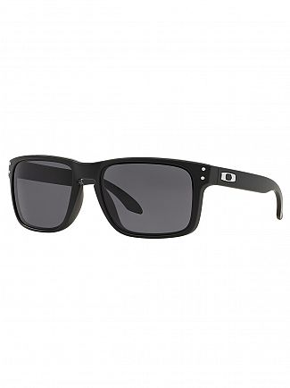 Oakley Matte Black/Warm Grey Holbrook Sunglasses