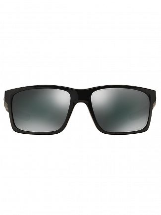 Oakley Polished Black/Black Iridium Mainlink Sunglasses
