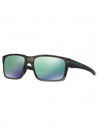 Oakley Grey Smoke/Jade Iridium Mainlink Sunglasses