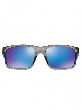Oakley Grey Ink/Sapphire Iridium Mainlink Sunglasses