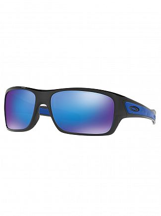Oakley Black Ink/Sapphire Iridium Turbine Sunglasses