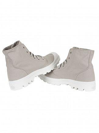 Palladium Vapor/White/White Blanc Hi Boots