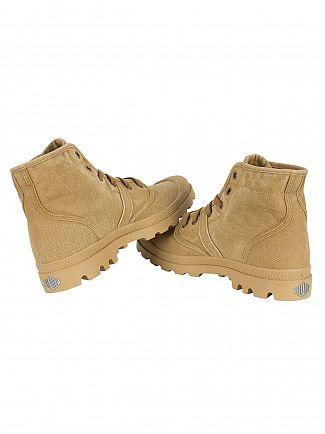 Palladium Woodlin/Honey Mustard Pallabrouse Boots