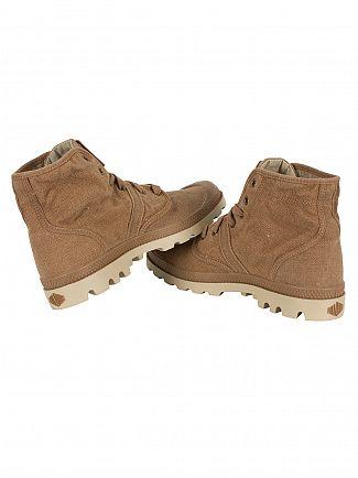 Palladium Toasted Coconut/Safari Pallabrouse LC Boots