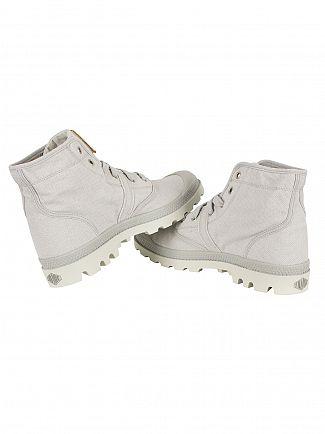 Palladium Vapor/Silver Birch Pallabrouse LC Boots
