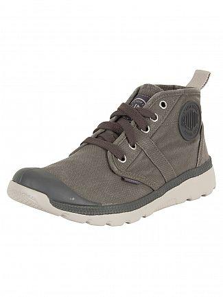 Palladium Pavement/Windchime Pallaville Hi Boots
