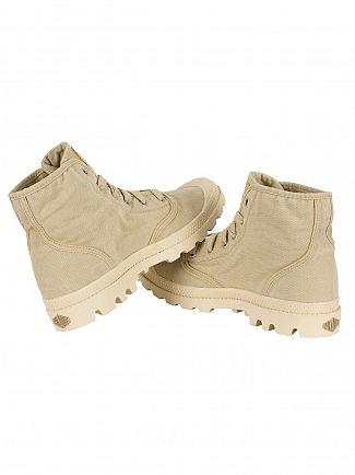 Palladium Sahara/Ecru Pampa Hi Boots