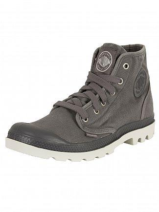 Palladium Pavement/Silver Birch Pampa Hi Boots