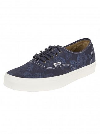Vans Parisian Night/Blanc De Blanc Authentic Floral Jacquard Trainers